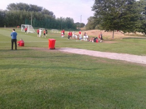 Dinamo Bucharest at a 5* hotel's golf course pitch.