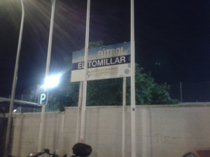 El Tomillar, home of Atletico Benamiel CF