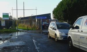 Wythenshawe Town FC gate