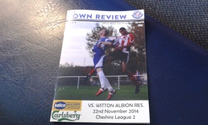 """The Town Review"" programme."