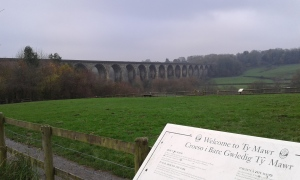 The Aqueduct from Ty Mawr Park