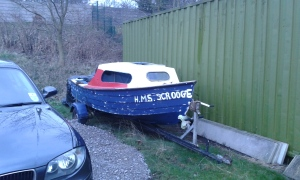 HMS Scrooge. Appropriate for the time of year.