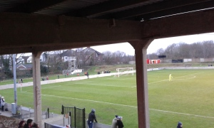 The Kersal end