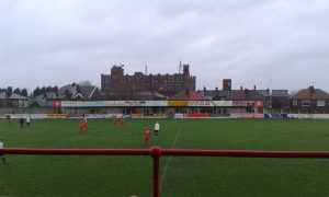 The old stand.