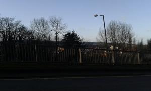 Looking towards Kidderminster.