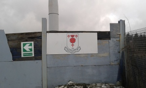 Glossop North End Badge Board