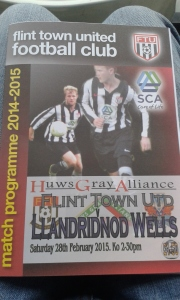 Today's Programme