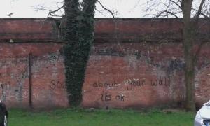 Talking to a brick wall...