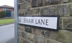 Arriving at Shaw Lane