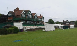 The famous old pavilion