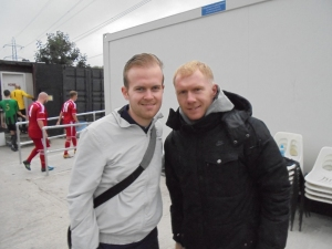 Me and Scholesey!