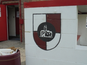 Badge on dugouts.