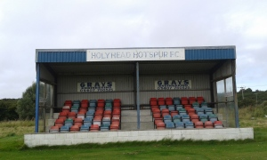 Holyhead Hotspur FC. Old Stand