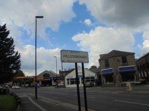 Arriving in Hillsborough