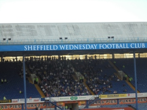 Sheffield Wednesday FC on the Leppings Lane Stand