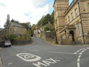 Steep hill shortcut