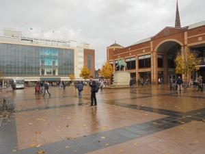 Coventry Centre & Lady Godiva statue