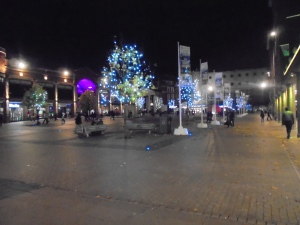 Coventry in the evening