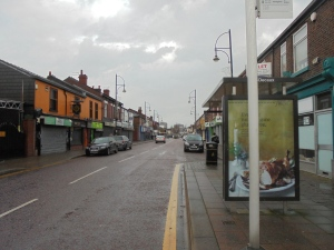 Edgeley high street