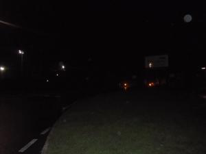 Arriving at a dark SSV