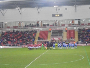 Teams line-up