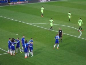 Costa celebrates his opener