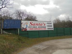 Santa's had a change of career