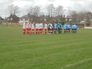 The sides line up