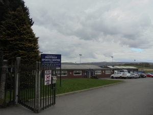 Arriving at Mayfield Sports Centre