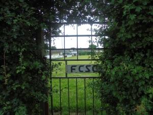 The Secret Garden-esque gate