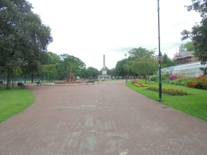 Victoria Park looking summery