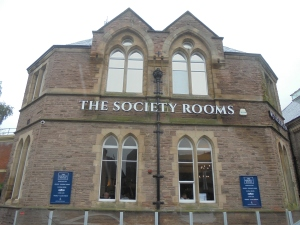 First stop, Society Rooms
