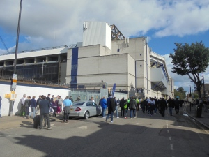 Arriving at the Lane