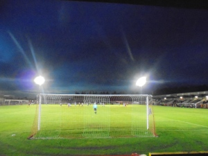 Bright lights of Wincham