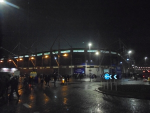 Arriving at the King Power
