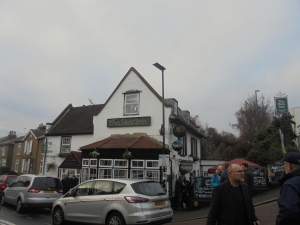 Completing the challenge: To the New Inn