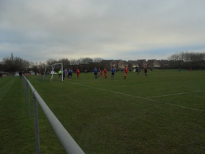 Just before Vale net their second